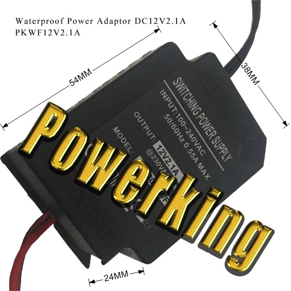 Water Proof Power Supply PKWF12V2.1A